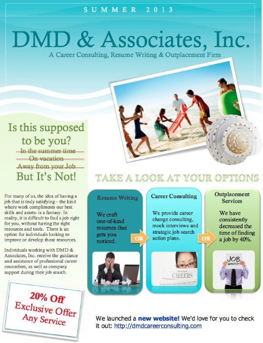 DMD & Associates Summer Sale and Savings
